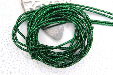 Канитель упругая 1,7 мм, Темно-зеленый - фото 15753