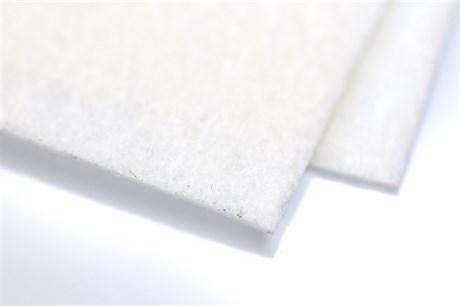 Жесткий фетр 1,5 мм, Белый (Супер жесткий) - фото 19098