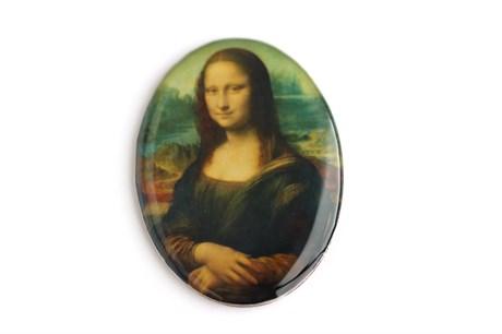 Кабошон 4*3 см Мона Лиза - фото 20149