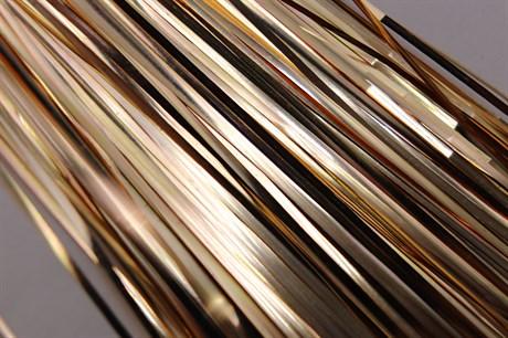 Плоская бить 1 мм, Rose Gold - фото 4946