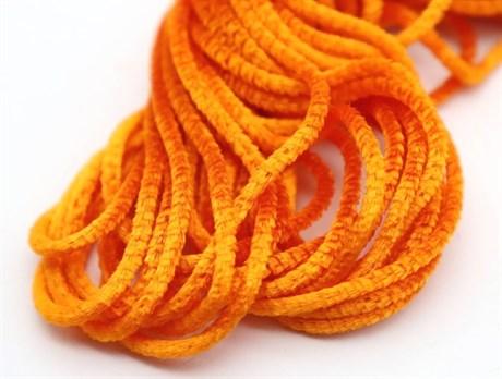 Французская синель Orange 23, 3 мм - фото 4992