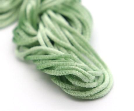 Французская синель Celadon Green 346, 3 мм - фото 5031