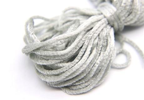 Французская синель Platinum Grey 615, 3 мм - фото 5042