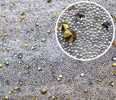 Кристальная ткань Pyrite, 40*40 мм - фото 5920