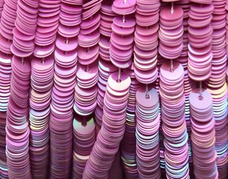 Пайетки радужный фарфор 5015, 4 мм - фото 5944