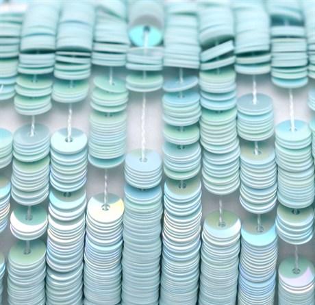 Пайетки радужный фарфор 5039, 4 мм - фото 5962