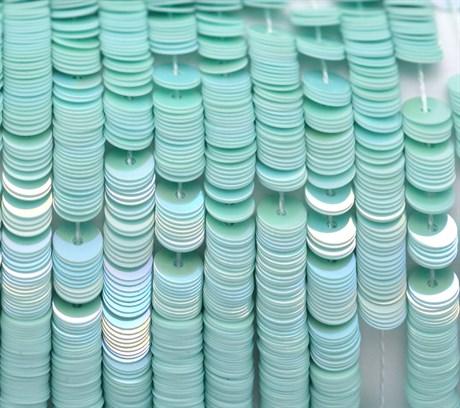Пайетки радужный фарфор 5044, 4 мм - фото 5964