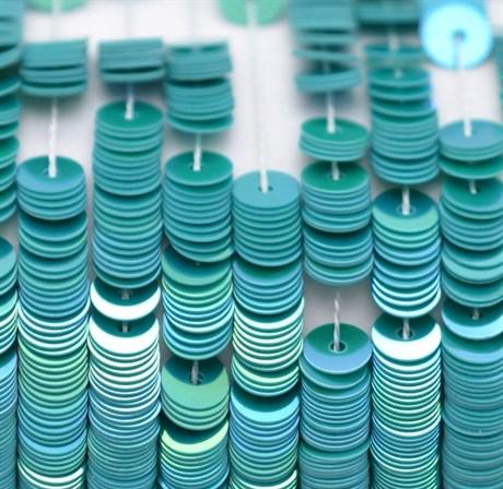 Пайетки радужный фарфор 5046, 4 мм - фото 5968