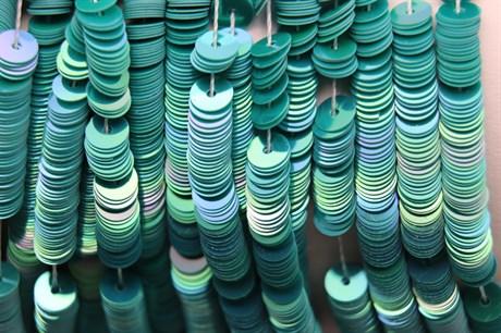Пайетки радужный фарфор 5046, 4 мм - фото 5969
