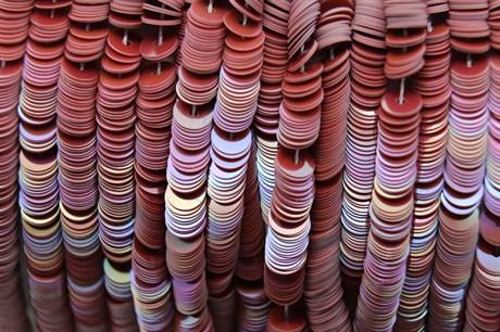 Пайетки радужный фарфор 5113, 4 мм - фото 5975