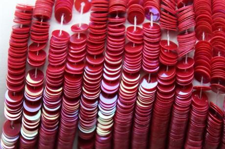 Пайетки радужный фарфор 5118, 4 мм - фото 5977