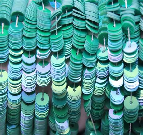 Пайетки радужный фарфор 5147, 4 мм - фото 5983