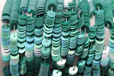 Пайетки радужный фарфор 5177, 4 мм - фото 5988