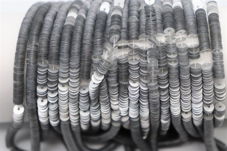Пайетки матовый металлик Argent, 4 мм - фото 6118