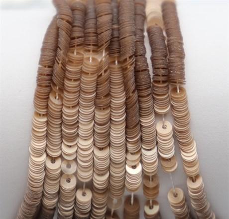 Пайетки перламутровые 59, 3 мм - фото 6135