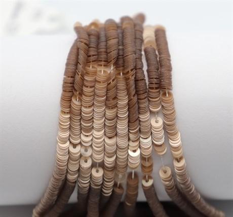 Пайетки перламутровые 59, 3 мм - фото 6136