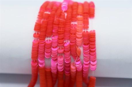 Пайетки перламутровые 68, 4 мм - фото 6151
