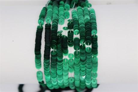 Пайетки перламутровые Vert, 4 мм - фото 6200