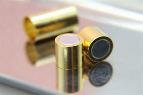 Магнитный концевик 10 мм, Gold - фото 6277
