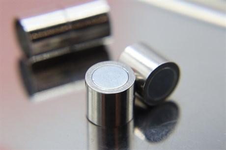 Магнитный концевик 10 мм, Silver - фото 6279