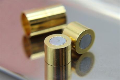 Магнитный концевик 12 мм, Gold - фото 6283