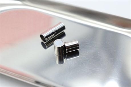 Магнитный концевик 7 мм, Silver - фото 6285