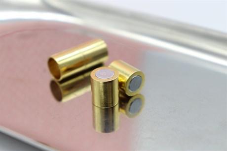 Магнитный концевик 8 мм, Gold - фото 6289