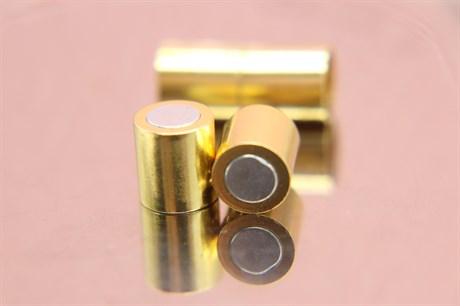 Магнитный концевик 8 мм, Gold - фото 6290