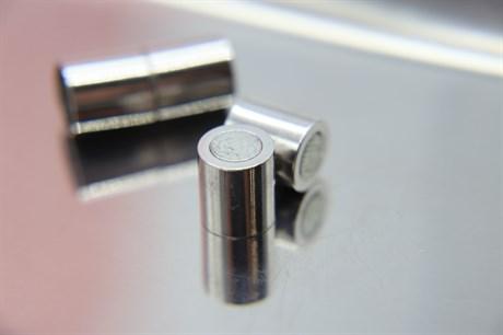 Магнитный концевик 8 мм, Silver - фото 6291