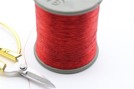 Металлизированная нить, Персидский красный - фото 6295