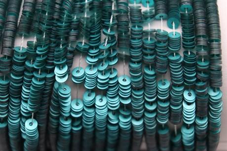 Пайетки матовый металлик 10040, 3 мм - фото 6541