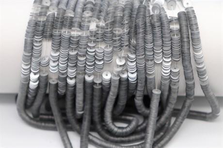 Пайетки матовый металлик Argent, 4 мм - фото 6550
