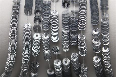 Пайетки рифленые Solul Argent, 3 мм - фото 6730
