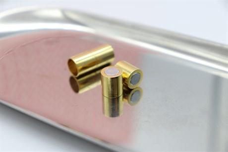 Магнитный концевик 8 мм, Gold - фото 6746