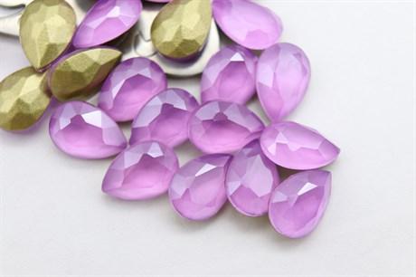 #4320 Drop 10*7 мм Mokko Dark Violet купить в Москве