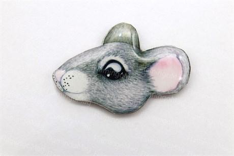 Кабошон мышка Вивьен - фото 9903
