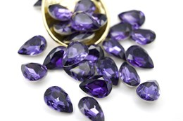 #4320 Drop 10*7 мм Purple Velvet