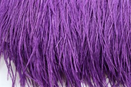 Перо страуса на ленте, Dark Purple