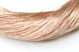 Металлизированная нить, Розовое золото