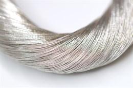 Металлизированная нить, Серебро