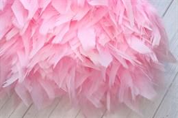Перо петуха на ленте, Pink