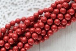 #5810 жемчуг Swarovski 4 мм Red Coral (#718)