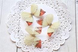 Пришивные крылья бабочки 4,5 см (№1)