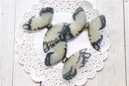 Пришивные крылья бабочки 4,5 см (№100)