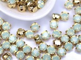 Шатоны 4 мм, Maxima Preciosa, Chrysolite opal
