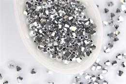Биконусы Preciosa 3 мм, Crystal Labrador Full