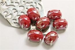 Перламутровый кристалл 10*14 мм, Красное вино