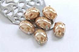 Перламутровый кристалл 10*14 мм, Персиковые румяна