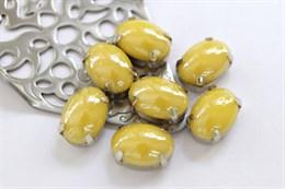 Перламутровый кристалл 10*14 мм, Лимонный