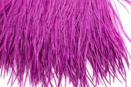 Перо страуса на ленте, Purple